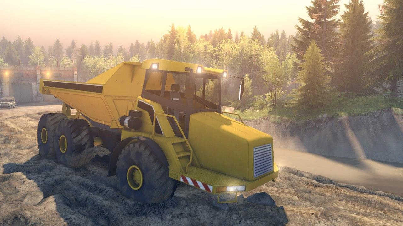 Dump Truck L v0.01 для версии 22.07.15(Бета!) для Spintires - Скриншот 1