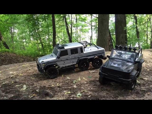 Рейд по парку - HG P402 и HG P601
