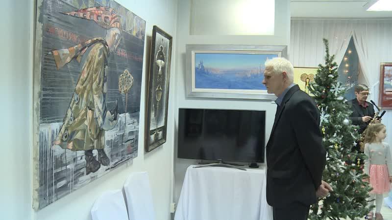 Традиционная рождественская выставка открылась в галерее Арт-Холл