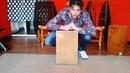 How to easily play cajón flamenco (medium level) - Tangos y Rumbas (sub. english