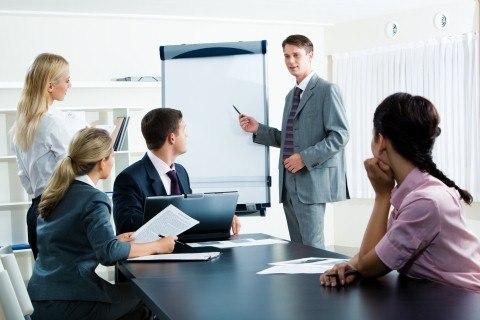 Презентация на деловой встрече