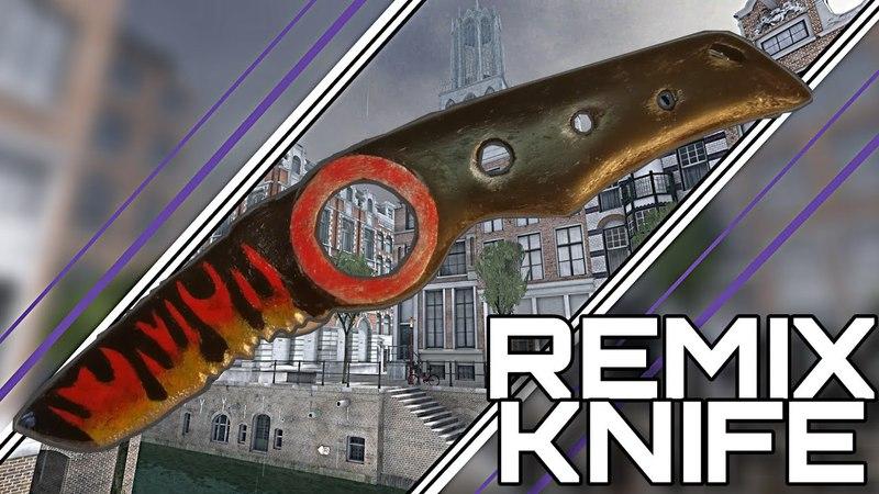 КАК СДЕЛАТЬ REMIX KNIFE ИЗ C-OPS ИЗ ДЕРЕВА!|HOW TO MAKE A REMIX KNIFE|critical ops