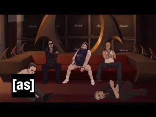 Toki & Murderface Get Serious   Metalocalypse   Adult Swim