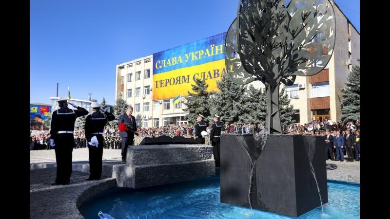 Церемонії відкриття Меморіалу Слави в місті Болград