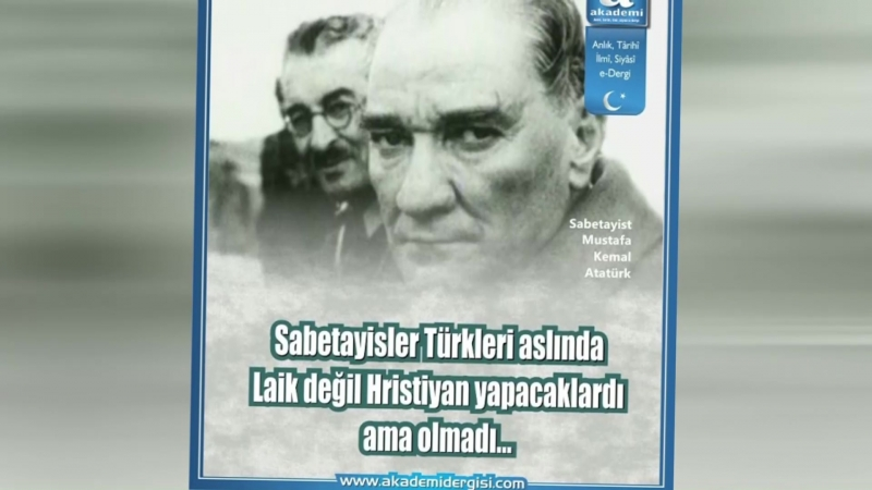 Onlarca sene Türk görünerek Türkiye'yi bir birine kattı ama o bir gizli Yahudi Emin Çölaşan
