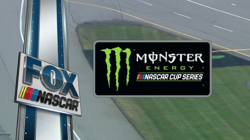 NASCAR Monster Energy Cup Series 2018. Michigan. Race Part 1