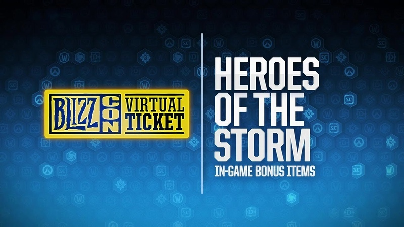 BlizzCon 2018 Virtual Ticket - Heroes of the Storm: In-Game Item Reveal
