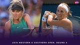 Elina Svitolina vs. Svetlana Kuznetsova | 2018 Western & Southern Open Round Two | WTA Highlights