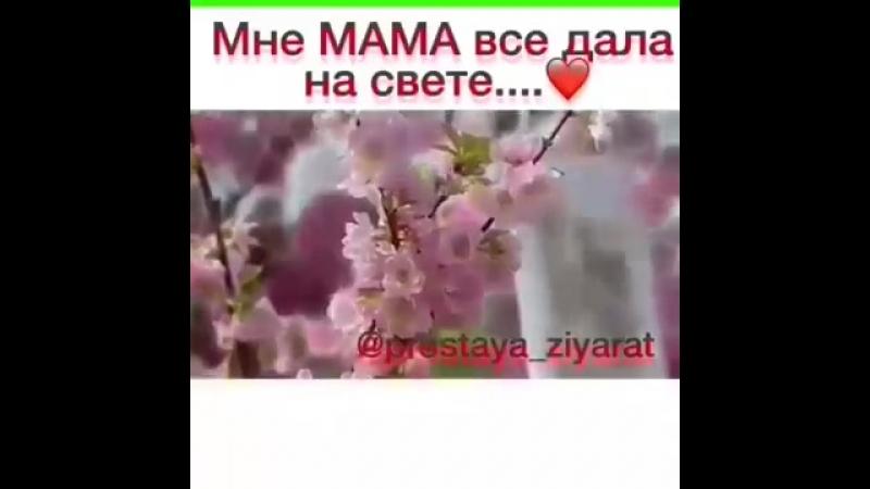 Мне Мама всё дала на свете. Саид Ибрагимов