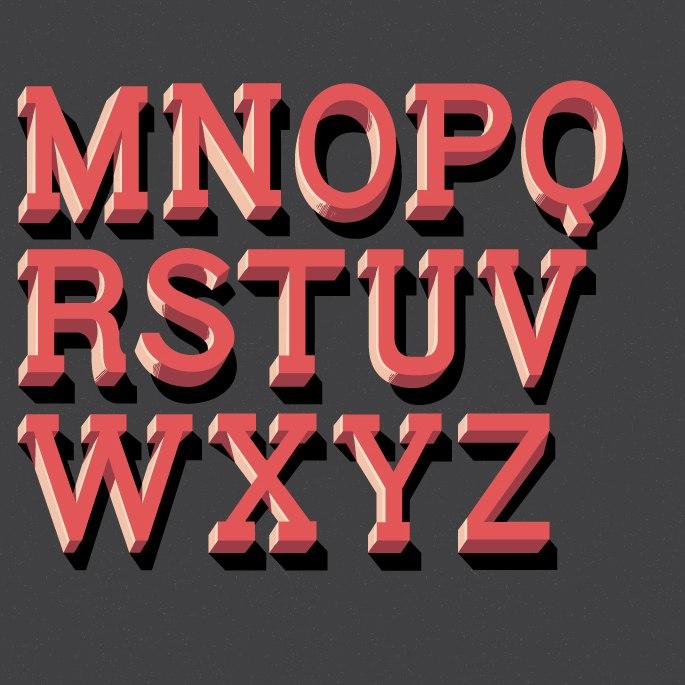 шрифт Monstre