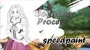 SPEEDPAINT - Redraw Rapunzel part 2