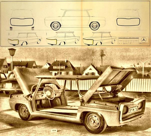 Уродство или гений Концепт-кар, которого стыдится Mercedes-Benz Автор статьи - TrunMoneys Источник - Обычно концепт-кары это гордость автомобильных компаний. Даже если прототип не становится