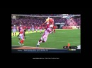 Jerome Simpson   NFL player jump OVER a defender to score a Touchdown   UNBELIEVABLE!!!