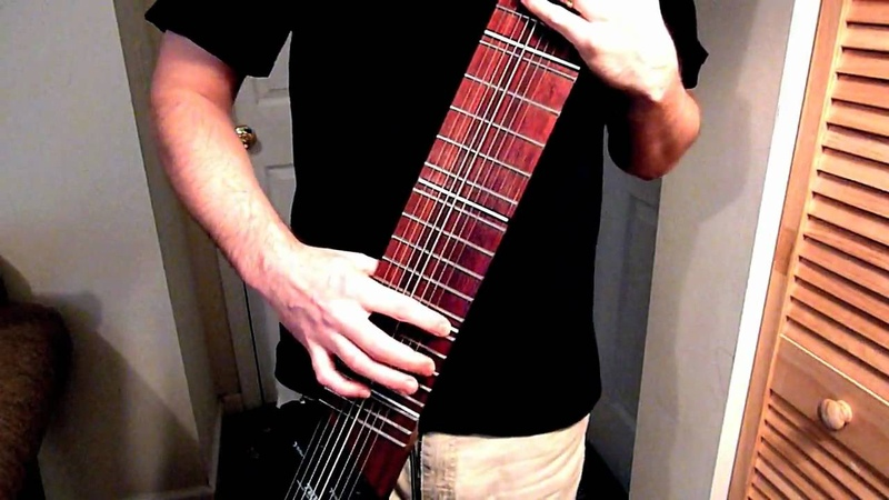MUSE - Map of the Problematique (Rob Martino - Chapman Stick)