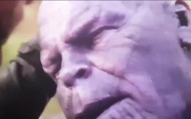 You shouldve gone throw the head - Infinity War good ending! · coub, коуб