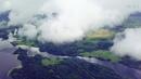 Селигер 2018. Сосницкий плес, над Могилево высотный полет в облаках. DJI Mavic