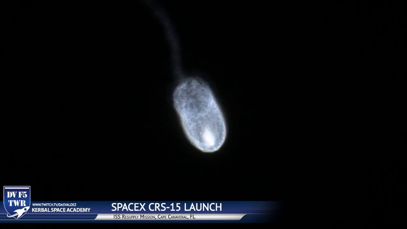 SpaceX CRS-15 Launch into the Sunrise