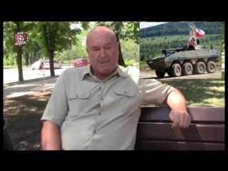 Очередной дегенерат из днр рассказывает как воевал с поляками под Славянском