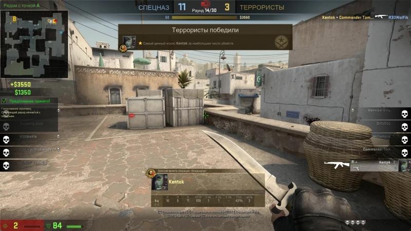 KENTOK 4K on the attack (Dust2)