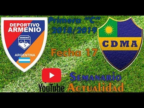 Primera C 20182019 - Fecha 17 - Deportivo Armenio vs Alem