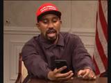 nbcsnl Kanye west meets Trump