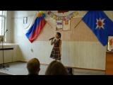 Концерт в пожарно части- Камилла Мальцева с песней Маленькая страна
