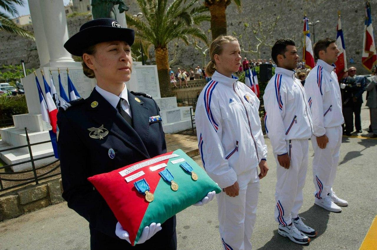 сборная Франции на военных сборах