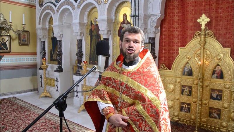 Проповедь на преполовение Пятидесятницы и в день памяти Блж. Матроны. Протоиерей Андрей Кривонис.