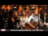 Marlon Roudette et Lala Joy - Live - Anti Hero - C'Cauet sur NRJ
