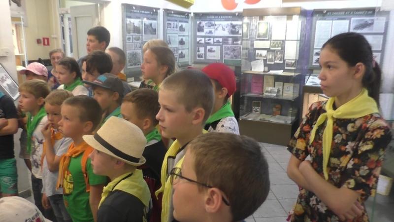 Музей танка Т 34 Начало экскурсии