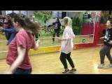 Hip-hop с учениками