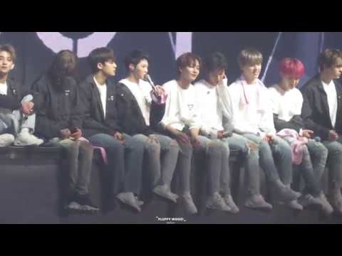 [FANCAM] [181103] Seventeen (세븐틴), Ment (Woozi) @ Ideal Cut The Final Scene Concert in Seoul D-1