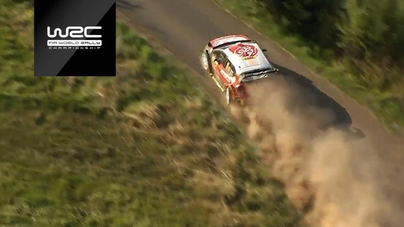 WRC. Лучшие моменты Ралли Германии-2018 (СУ 12-15)