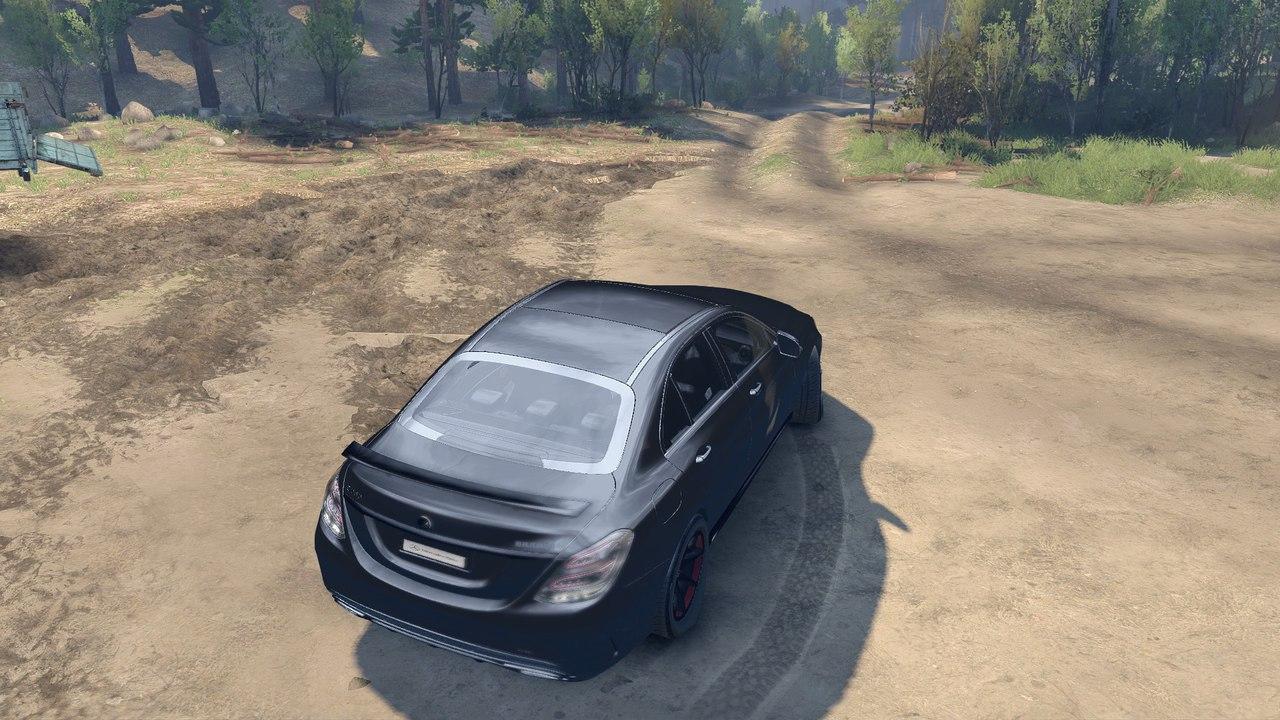 Mercedes Benz C250 Brabus для Spintires - Скриншот 3