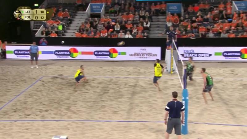 Plavins-Tocs LAT vs Kantor-Losiak POL (FINAL, The Hague 4-Star 2018)