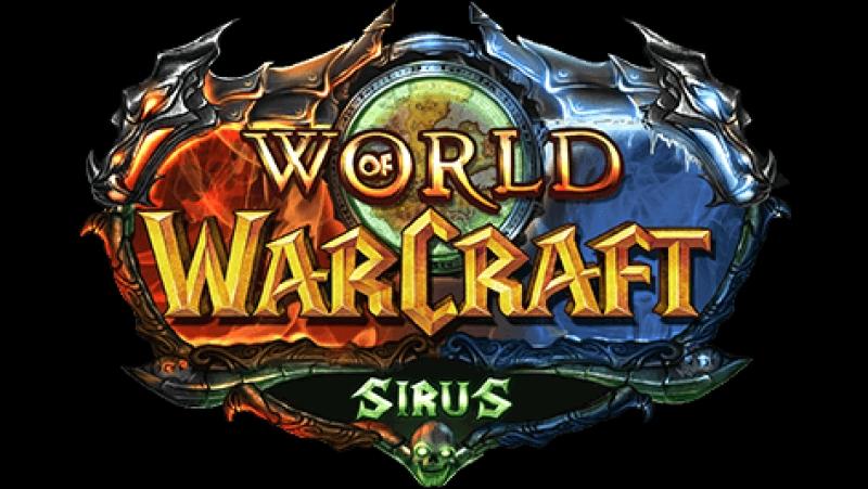 World of Warcraft - Sirus.su день первый Играем под музыку без комментариев