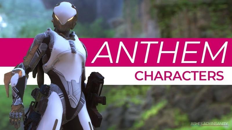 ANTHEM as a BioWare Fan, Part 2 - Characters