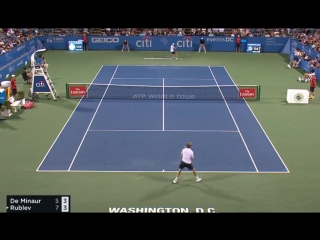Alex DE MINAUR - Andrey RUBLEV HIGHLIGHTS WASHINGTON 2018