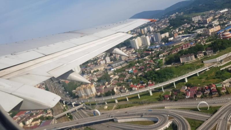 взлет на Boeing 737 AER-GOJ