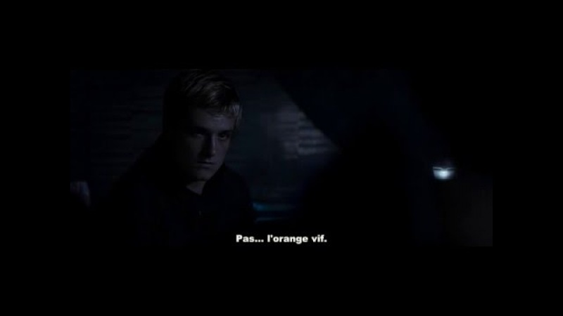 The Hunger Games Mockingjay Part 2 - Katniss talks to peeta about him