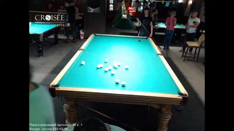 Парный турнир. Папуниди - Герасимов X Русаков - Курчин