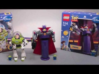 LEGO Toy Story Sets : Construct a Zurg 7591 and Construct a Buzz 7592 , Stop - Motion / HD 720p
