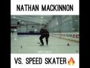 Маккиннон против конькобежца