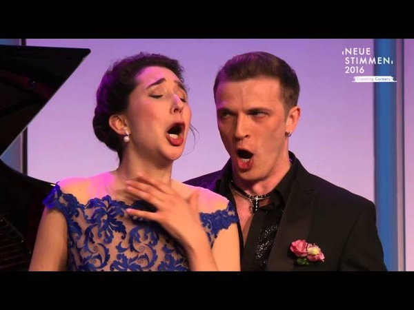 NEUE STIMMEN 2016 - Prizewinners concert Miriam Albano and Anatoli Sivko sing La ci darem la mano
