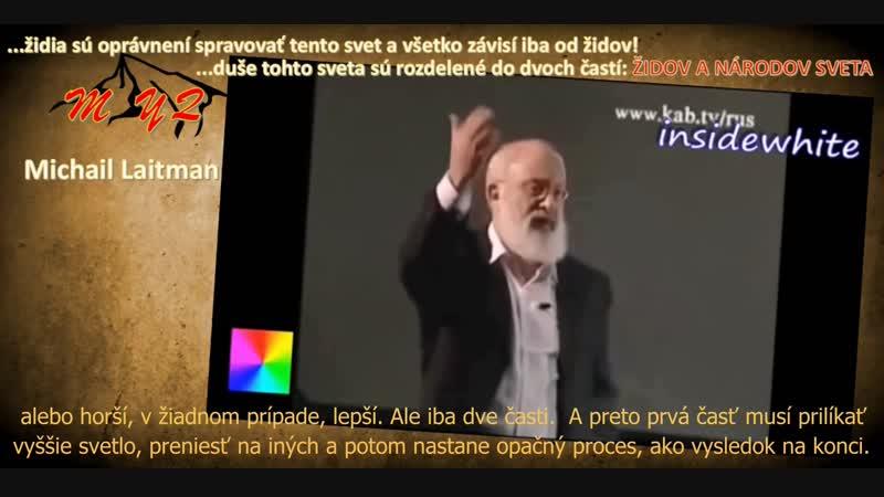 Čo vieme o židoch... kto sú... prednáša M Laitmann