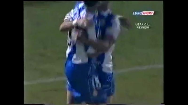 105 CL-2003/2004 AEK Athen - Deportivo La Coruña 1:1 (17.09.2003) HL
