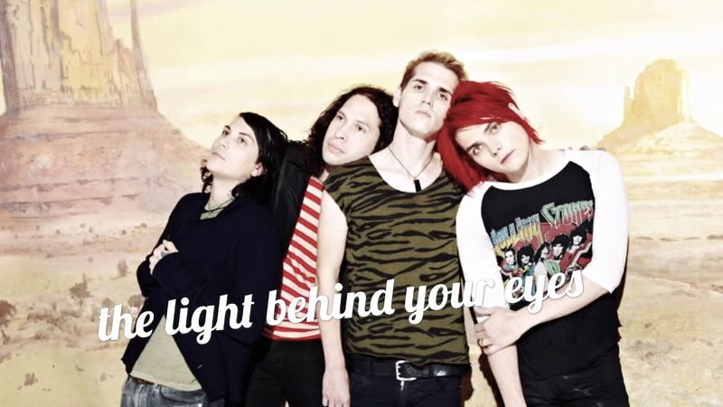 My chemical romance the light behind your eyes acoustic cover