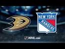 Anaheim Ducks vs New York Rangers Dec 18 2018 Game Highlights NHL 2018 19 Обзор матча