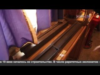 В Котласе побывал ретро-поезд