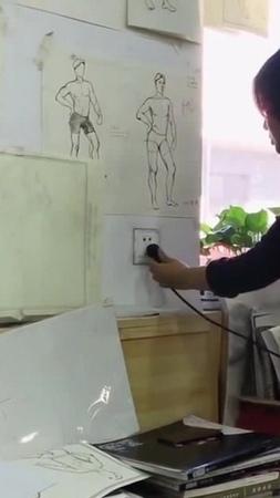 нарисованная розетка